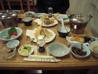 千代田館夕食