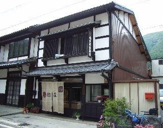 木曽平沢の漆器店